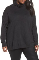 Eileen Fisher Plus Size Women's Merino Wool Turtleneck Sweater