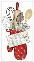 Mary Lake Thompson Flour Sack Towel - Holiday Oven Mitt, Sugar Cookies