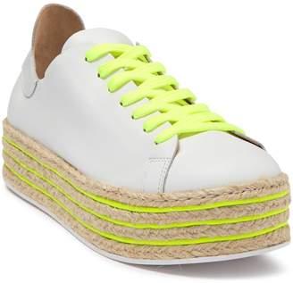 Schutz Demisiana Lace-Up Platform Sneaker