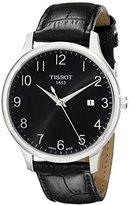 Tissot Men's T0636101605200 T-Classic Analog Display Quartz Black Watch