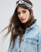 Johnny Loves Rosie Flower Print Knot Headband