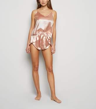 New Look Mid Satin Cami and Short Pyjama Set