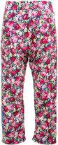 Les Animaux drop crotch wide-leg trousers