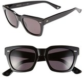 Gucci Men's '1099S' 50Mm Retro Sunglasses - Black/ Dark Grey