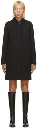 Burberry Black Sansend Trench Coat