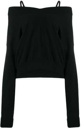 Maison Margiela multi-wear V-neck jumper