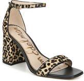 Sam Edelman Daniella Leopard-Print Ankle-Strap Sandals