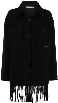 alexanderwang.t Fringed Single-Breasted Jacket