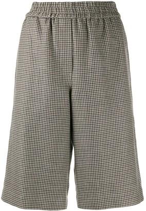 Brunello Cucinelli Houndstooth Bermuda Shorts