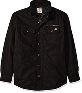 Dickies Men's Relaxed Fit Utility Quilted Shirt Jacket
