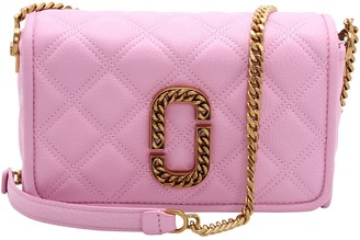 Marc Jacobs The Status Flap Leather Shoulder Bag