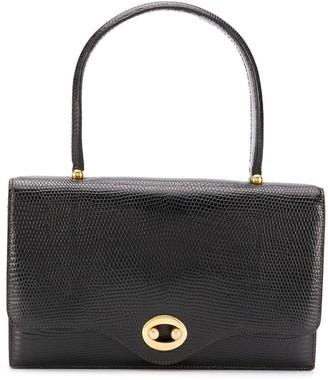Hermes Lizard-Embossed Pattern Handbag