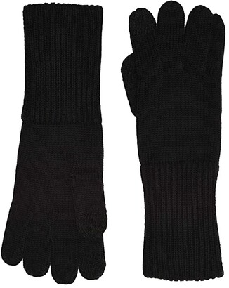 UGG Full Knit Gloves with Tech Tips (Black) Extreme Cold Weather Gloves