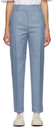 Marni Blue Wool Trousers