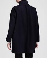 Jil Sander Palau Fin-Seamed Pea Coat