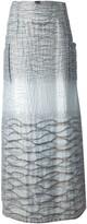 Jean Louis Scherrer Pre Owned a-line maxi skirt