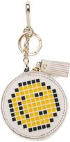 Anya Hindmarch 'Smiley' keyring - women - Goat Skin - One Size