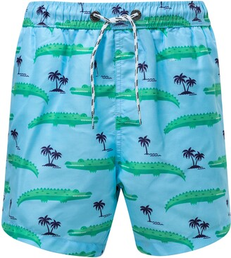 Snapper Rock Croc Island Swim Trunks