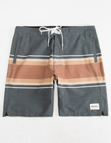 rhythm Retro Stripe Mens Boardshorts
