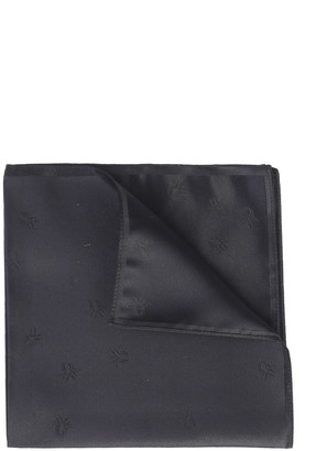 Christian Dior Embroidered Pocket Square