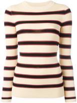 Etoile Isabel Marant striped jumper - women - Viscose/Polyester - 36