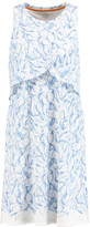 Tory Burch Kaley printed cotton-twill dress