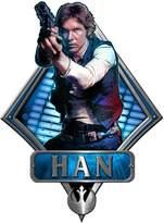 Star Wars Silver Buffalo SW3506 Disney Han Solo Episode 4 Shooting Die Cut Wood Wall Art
