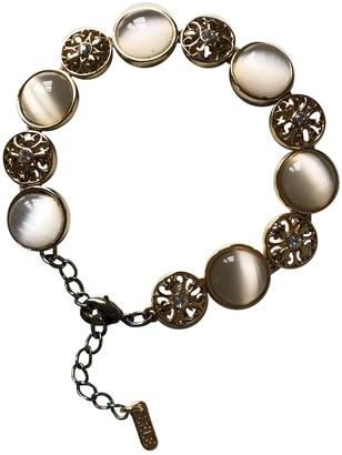 Lele Sadoughi Gold Metal Bracelets