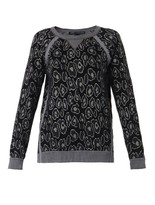 Marc by Marc Jacobs Cassidy leopard-intarsia sweater