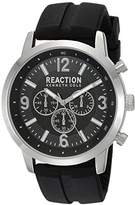 Kenneth Cole Reaction Men's 'Sport' Quartz Metal and Silicone Casual Watch, Color:Black (Model: 10030929)