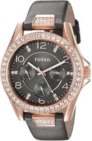 Fossil Women's Riley-ES3888 Gray Watch