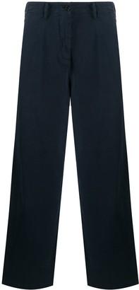 Aspesi High-Waist Wide-Leg Trousers