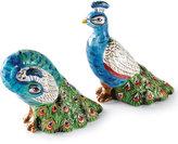 Artesian Peacock Salt & Pepper Shakers