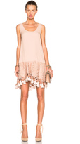 No.21 No. 21 Lace & Fringe Dress
