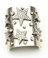 Ben-Amun Rock Star Crystal Cuff Bracelet