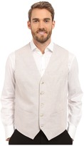 Perry Ellis Linen Suit Vest Men's Vest