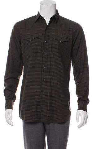1eafdc61b8 Mens Button Snap Front Shirt - ShopStyle
