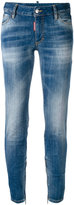 DSQUARED2 Twiggy mid-rise skinny jeans - women - Cotton/Polyester/Spandex/Elastane - 38