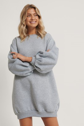 Trendyol Balloon Sleeve Sweater Dress