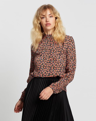 Vero Moda Women's Black Shirts & Blouses - Milda Long Sleeve Top - Size One Size, XS at The Iconic