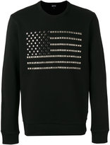 Just Cavalli studded knitted sweater - men - Cotton - M