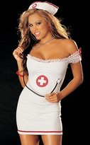Shirley of Hollywood Sexy Fantasy Role Play Lingerie Naughty Nurse Outfit
