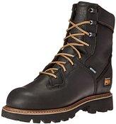 "Timberland Men's 8"" Crosscut Waterproof Soft-Toe Logger Work Boot"