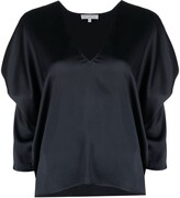 Thumbnail for your product : Antonelli draped V-neck blouse