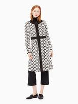 Kate Spade Guipure lace a-line coat