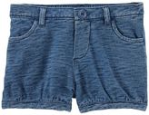 Osh Kosh Toddler Girl Slubbed Bubble Shorts