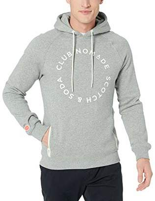 Scotch & Soda Men's Logo Hoodie Club Nomade