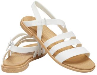 Crocs Tulum 206107 Oyster/Tan Sandal
