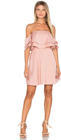 Keepsake Two Fold Mini Dress