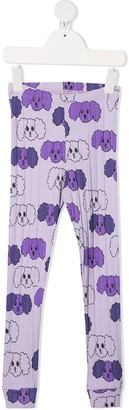 Mini Rodini Fluffy Dog Print Leggings